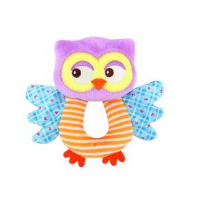 Lorelli Toys plüss csörgő - bagoly