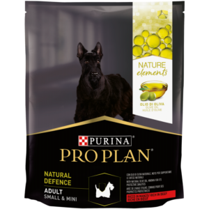 Purina PRO PLAN Nature Elements Small & Mini Adult Defense marhában gazdag száraz kutyaeledel 700 g