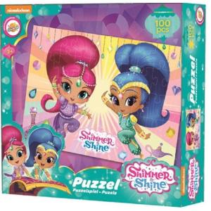 Shimmer és Shine Puzzle 100 db-os Shimmer and Shine