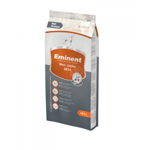 Eminent Maxi Junior 28/14 száraz kutyatáp 15 kg + 2 kg ajándék