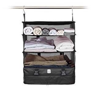 Stow-N-Go hordozható poggyászrendszer bőrönd szervező