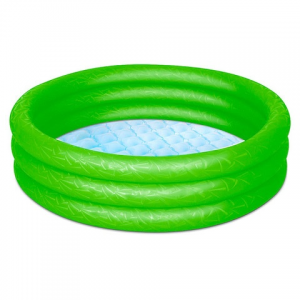 Bestway : Felfújható 3 gyűrűs medence - több színben 102 x 25 cm