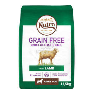 Nutro Grain Free Adult Medium Lamb 2 x 11,5 kg