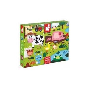 "JANOD Tapintós puzzle - \""farm állatok\"" - 20 darabos Janod"