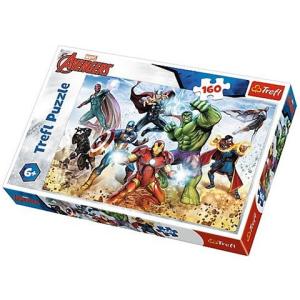 Trefl Bosszúállók Készen a világ megmentésére 160 db-os puzzle