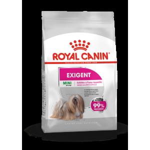Royal Canin MINI EXIGENT - száraz táp válogatós, kistestű felnőtt kutyák részére 1 kg