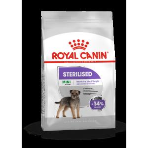Royal Canin MINI STERILISED - száraz táp ivartalanított, kistestű felnőtt kutyák részére 3 kg
