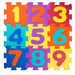 Olymptoy Plastica Foam Puzzle számok