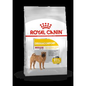Royal Canin MEDIUM DERMACOMFORT - száraz táp bőrirritációra hajlamos, közepes testű felnőtt kutyák részére 3 kg