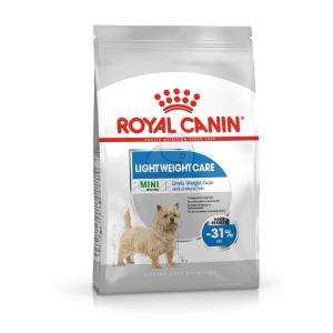 Royal Canin Royal Canin Mini Light Weight Care - száraz táp hízásra hajlamos, kistestű felnőtt kutyák részére 3 kg