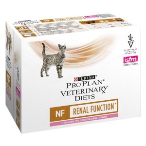 Purina Veterinary Diets 10x85g Purina Pro Plan Veterinary Diets Feline NF ST/OX - Renal Function lazac nedves macskatáp