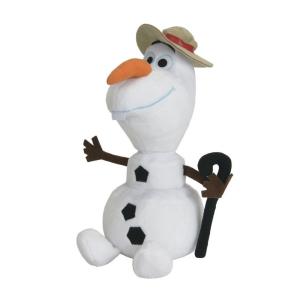 Disney Jégvarázs Olaf kalapban plüss 36 cm