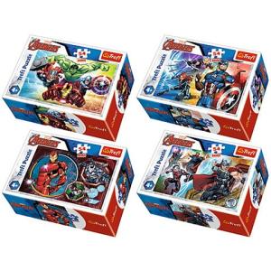 Trefl Marvel Bosszúállók mini Puzzle 54 db-os többféle Trefl