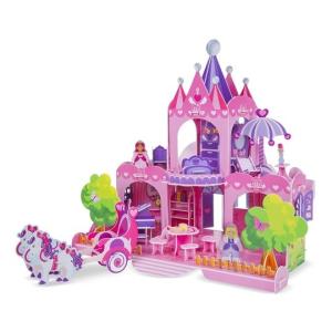 Melissa@Doug 3D puzzle, Pink palota