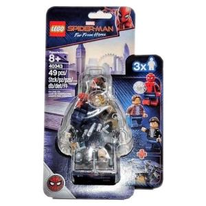 LEGO Spider-Man and the Museum Break-In minifigura szett (40343)