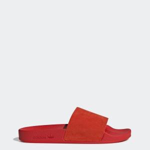 Adidas Női Papucs ADILETTE W ACTRED/FTWWHT/CBLACK CM8412