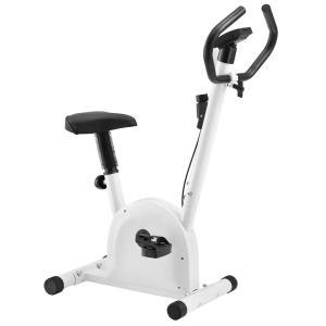 PRO-TEC [pro.tec]® Szobabicikli Otthoni Szobakerékpár LCD kijelzővel Fehér Fitness bicikli 100kg-ig