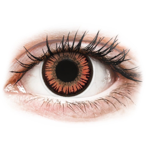 MaxVue Vision ColourVUE Crazy Lens - Vampire - dioptria nélkül (2 db lencse)
