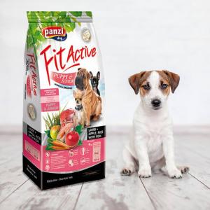 Panzi FitActive Hypoallergenic Puppy Lamb (bárány, rizs, alma) száraztáp, 4kg