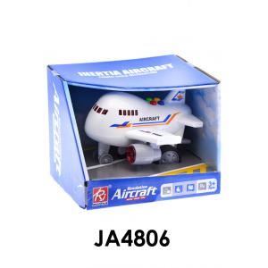 Repülőgép, elemes(3 gombelem benne), hangot ad és világít, 17x15 cm nyitott dobozban