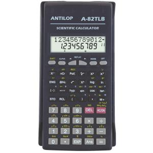 ANTILOP Számológép tudományos 229 funkciós fekete ANTILOP A-82TLB