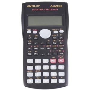 ANTILOP Számológép tudományos 240 funkciós fekete ANTILOP A-8200B