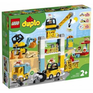 LEGO DUPLO Toronydaru és építkezés (10933)