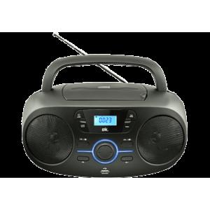 Ok. ORC 330-B CD-s rádió, fekete