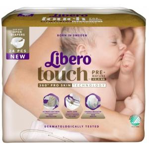 Libero 0 koraszülött pelenka 24db