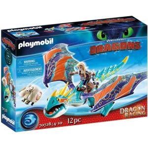 Playmobil 70728 Dragon Racing - Astrid és Viharbogár