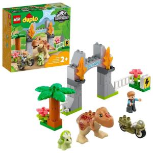 LEGO DUPLO T. rex és Triceratops dinoszaurusz szökés (10939)