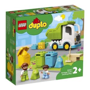 LEGO DUPLO Szemeteskocsi és újrahasznosítás 10945