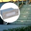 6 db lépcsőbe építhető LED lámpa / kültéri 44 x 111 56 mm