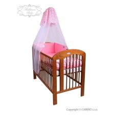 6-részes ágyneműhuzat Belisima Csillag 100/135 rózsaszín | Rózsaszín | 100/135 cm babaágynemű, babapléd
