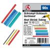 90 részes színes zsugórcső készlet (BGS 88150)