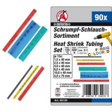 90 részes színes zsugórcső készlet (BGS 88150) ragasztópisztoly