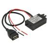 92914 12V-ról 5V-ra USB Autós töltő Adapter, Step Down Module DC-DC Konverter GPS vagy más eszközökhöz