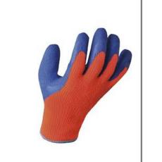 A145 - Hűtőházi kesztyű - narancs / kék
