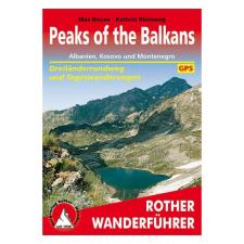 A Balkán csúcsai túrakalauz / Bergverlag Rother utazás