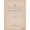 A budapesti I. kerületi községi Szilágyi Erzsébet Leányliceum értesítője az 1931-32. iskolaévről
