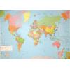 A Föld országai 124x86 cm Ívben, fóliázva lécezve
