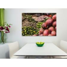 A kert ízei vászonkép grafika, keretezett kép