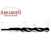 Abraboro HSS-R Szűkített Szárú Fémcsigafúró 15,5mm (szár:12,7mm)