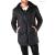 Absolut joy férfi fekete kapucnis kabát WH4-GG0092A