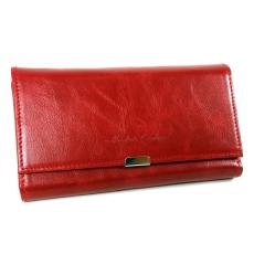 ABSOLUTE Leather Absolut Leather közepes piros bőr pincértárca ABS-7404