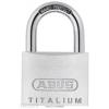 Abus TITALIUM Egyforma kulcsos lakat 727/40 KA