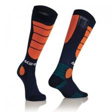 Acerbis cross zokni - MX Impact - kék/narancs motocross mez