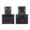 Adapter, USB / pendrive csatlakoztatásához, fekete