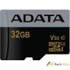 ADATA 32GB SD micro Premier Pro (SDHC Class 10 UHS-I U3) (AUSDH32GUI3V30G-R) memória kártya