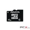 ADATA 4GB micro SDHC Class 4 AUSDH4GCL4-RA1 memóriakártya + adapter